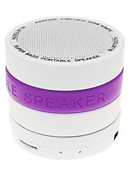 Udendørs Indendørs Bluetooth Bærbar Trådløs Bluetooth 2.0 3.5mm AUX Usb Højtalere Til Udendørsbrug Lilla Rød Grøn Blå Lys pink