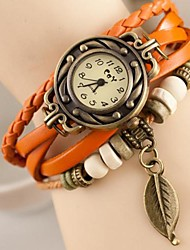 cheap -Women's Quartz Wrist Watch Casual Watch Leather Band Charm Fashion Multi-Colored
