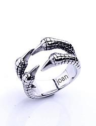 Недорогие -персонализированные подарочные модные орел когтями в форме ювелирных изделий нержавеющей стали выгравирован мужской кольцо