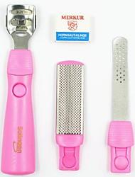 baratos -4 em um dicas instrumentos de manicure rosa unhas tesoura removedores de adesivos clipper para falsos pontas das unhas uv acrílico da arte do prego
