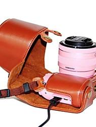 Недорогие -pajiatu® съемный искусственная кожа зарядки рисунок камеры Защитная крышка чехол сумка для Samsung nx2000