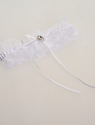 cheap -Lace Classic Wedding Garter with Ribbons Garters