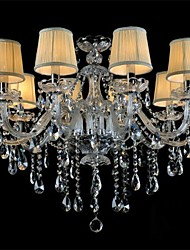 cheap -Globe Island Drum Country Traditional/Classic Modern/Contemporary Crystal Mini Style Chandelier Ambient Light For 110-120V 220-240V