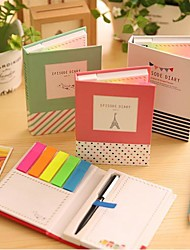 cheap -Different Shape Self-Stick Notes Set with Ballpoint Pen
