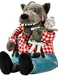 cheap -16inch Large Wolf with Grandma Stuffed Animal Plush Toy