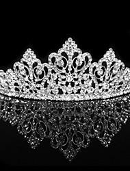 abordables -boda aro tiara casco personalizado pelo zirconia cúbica
