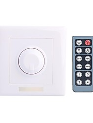 cheap -8A DC 12-24V LED Dimmer with 12-Key IR Remote Controller for LED Light Lamp