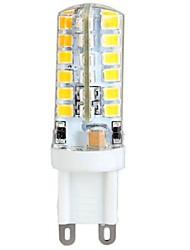 ywxlight® 3w g9 привело кукурузные фонари 48 светодиодов smd 2835 теплый белый 300lm 2800-3200k ac 100-240v