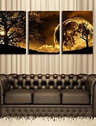 Canvas Set LandscapeThree Panels Vertical Print Wall Decor For Home Decoration