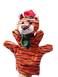 cheap -Christmas Tiger Large-sized Hand Puppets Toys