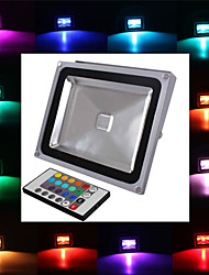 LED Floodlight 1 Integrate LED 2900 lm RGB K Remote-Controlled AC 85-265 V