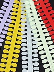 5PCS 3.5cm x 51cm Oval Shaped Flower Petal Quilling Paper Set Creative DIY Origami Paper-Rolling