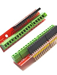 cheap -Screw Shield V2 Terminal Expansion Boards for Arduino - Red (2 PCS)