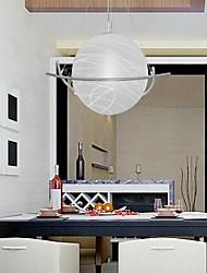 Недорогие -6-Light Подвесные лампы Рассеянное освещение Электропокрытие Металл Стекло Мини / E26 / E27