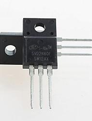 Недорогие -fqpf2n60c 2n60c транзистор N-канальный 600v 2а-220 (5шт)
