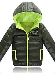 preiswerte -Jungen Daunen & Baumwoll gefüttert - Polyester einfarbig Winter