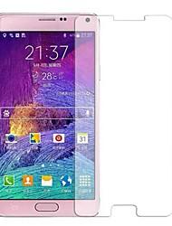 baratos -Protetor de Tela Samsung Galaxy para Note 4 Vidro Temperado Protetor de Tela Frontal Anti Impressão Digital