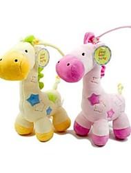 Недорогие -хрустящий сладкий музыкальная шкатулка плюшевые скрипка жидкости кровать детские игрушки