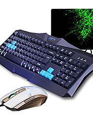 v90 sunsonny + TM30 óptico de alta velocidade com fio usb teclado para jogos + rato (dpi) terno