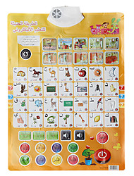 cheap -Baby's Learning Chart in Arabic with Sounds Educational Toy