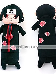 Bolsa Inspirado por Naruto Itachi Uchiha Anime Acessórios de Cosplay Bolsa Preto Malha polar Masculino / Feminino