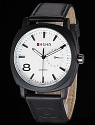 cheap -Men's Army Design Leather Band Quartz Wrist Watch(Assorted Colors) Cool Watch Unique Watch