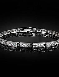 Nice Alloy Gold Plated With Big Zircon Bangles Bracelet