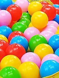 Недорогие -100шт 5.5cm красочные пластиковые океан мяч, играя бассейн вода игрушки (случайный цвет)