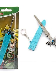 Altri accessori Ispirato da The Legend of Zelda Cosplay Anime/Videogiochi Accessori Cosplay Portachiavi Blu Lega Uomo