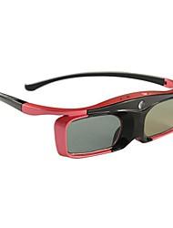abordables -obturador del DLP-Link activa gafas 3D recargables para todos los enlaces DLP 3D proyectores