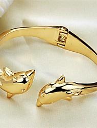 dauphins de la personnalité de la mode ms placage bracelet en or 18 carats