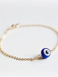 pulseira de olho das mulheres