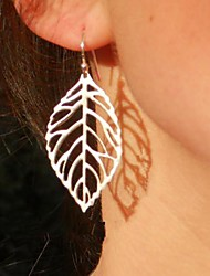 Women's Drop Earrings Costume Jewelry Fashion Statement Jewelry Alloy Leaf Jewelry For Party Daily