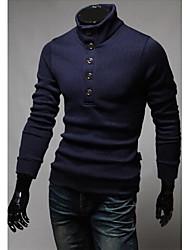 preiswerte -Herrn Klassisch & Zeitlos Pullover - Solide, Reine Farbe