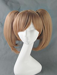 cheap -Cosplay Wigs Sword Art Online Silica Anime Cosplay Wigs 16 inch Heat Resistant Fiber Women's Halloween Wigs