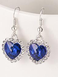 preiswerte -Damen Ohrring - Party Büro Freizeit Fuchsia Rot Lavendel Ohrringe Für Alltag