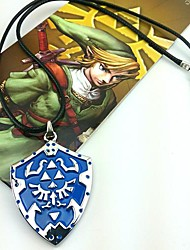 Gioielli Ispirato da The Legend of Zelda Cosplay Anime/Videogiochi Accessori Cosplay Collane Blu Lega Uomo