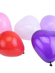 cheap -Extra Large Size Pearlized Heart-shaped Balloons(Can Choose Color,50Pcs)