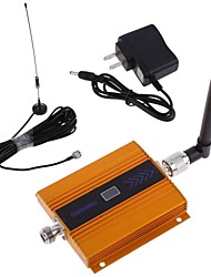 abordables -lcd GSM 900MHz señal de refuerzo amplificador de teléfono móvil + kit de antena