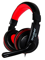 OVLENG Q13 USB Stereo Headset Gaming Headphones Wire Earphone with Mic for Computer