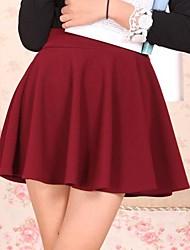 povoljno -Seksi / Zabava Ženski Suknje - Mini , Rastezljivo Pamučne mješavine