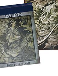 abordables -portrait croquis livre de modèle de tatouage