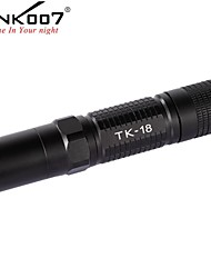 cheap -Tank007 TK18   R5 LED Flashlights / Torch / Handheld Flashlights / Torch LED 320lm 5 Mode Impact Resistant / Nonslip grip / Rechargeable
