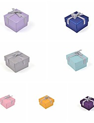 cheap -Ribbon Bow Paper Ring Box