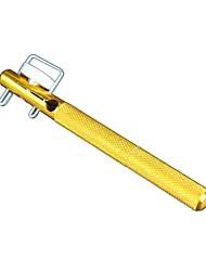 alta qualidade metal dourado camada manual de gancho