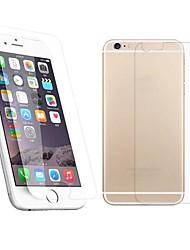 2.5d передняя и задняя часть премии закаленное стекло экрана защитная пленка для iphone 6с плюс / 6 плюс