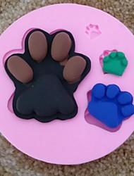 billige -fodspor fondant kage chokolade silicone skimmel cupcake kage dekoration værktøjer, l9.5cm * w9.5m * h1.5cm
