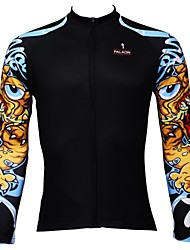 cheap -ILPALADINO Men's Long Sleeve Cycling Jersey Bike Jersey, Quick Dry, Ultraviolet Resistant, Breathable