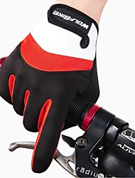 cheap -WOSAWE Sports Gloves Bike Gloves / Cycling Gloves Keep Warm Breathable Anti-skidding Protective Shockproof Full-finger Gloves Synthetic