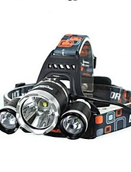 LS064 5000Lm 3 X CREE XM-L T6 LED Rechargeable Headlamp Torch Lampe de poche